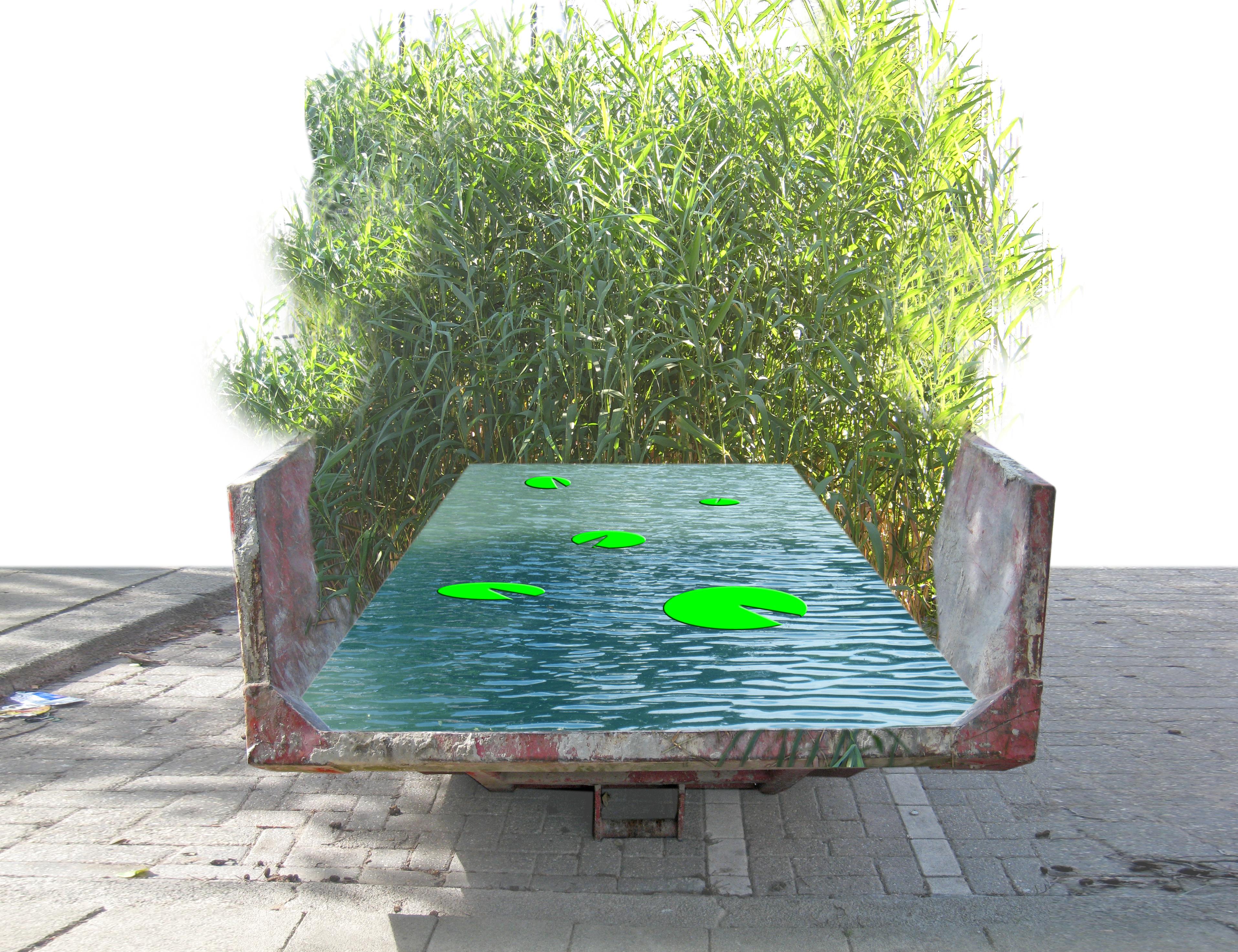 Water en cortenstaal geven uniek karakter aan tuin